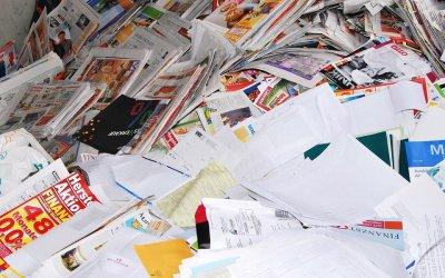 Wat doe je met teveel papier?
